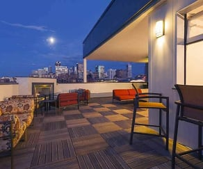 Patio / Deck, City House Apartments