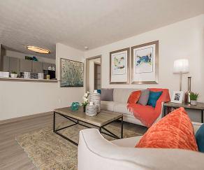 Living Room, The Villas on 35th