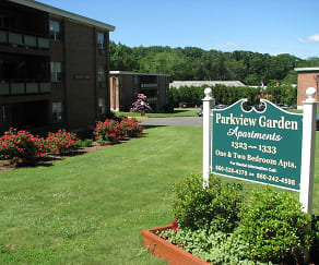 Community Signage, Parkview Garden Apartments