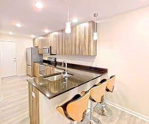 Kitchen, Skylight Court