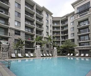 Pool, The Edge at Flagler Village Apartments