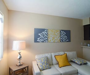 Living Room, Southview Apts