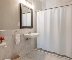 Bathroom, 1 Brown