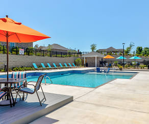 Pool, McHenry Square Apartments