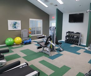 Fitness Weight Room, Paces Brook
