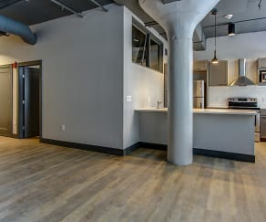 Living Room, AP Lofts at Larkinville