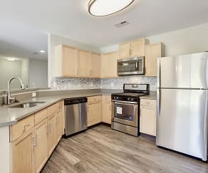 Modern kitchens, great for entertaining, Owings Park Apartments