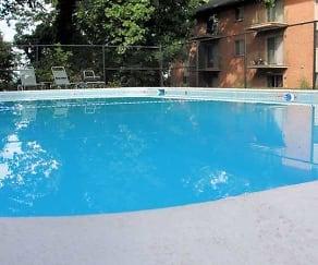 Pool, Woodridge Apartments