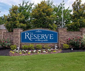 Community Signage, The Reserve at Maryville