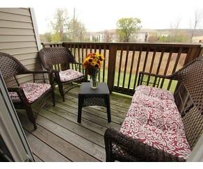 Patio / Deck, Long Pond Village Apartments