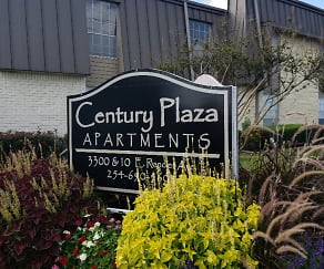 Community Signage, Century Plaza Apartments