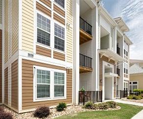 Building, Watercourse Apartments