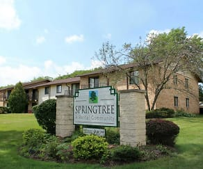 Building, Springtree Apartments