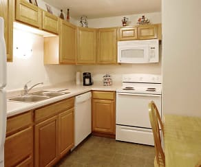 Kitchen, North Side Apartment