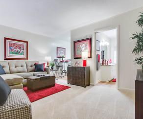 Spacious Living Area, Brookstone