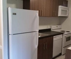 Kitchen, Queensdale Apartments