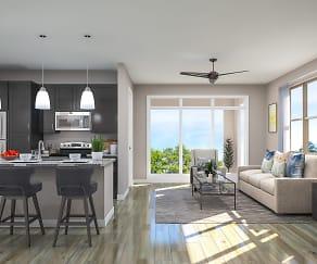 Living Room, Belvedere at Berewick- 55+ Luxury Community