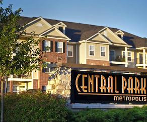 Community Signage, Central Park Metropolis
