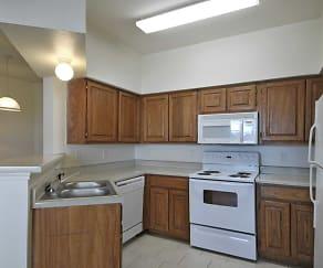 Kitchen, Sycamore Center Villas
