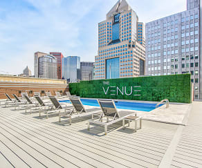Pool, The Venue Apartments