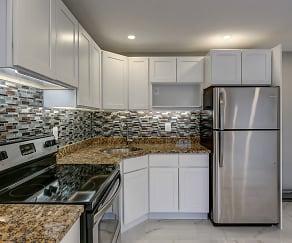 Kitchen, Birchwood Apartments