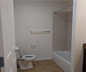 Bathroom, Horizon Apartments