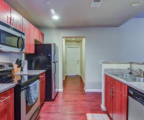 Kitchen, West Campus Lofts