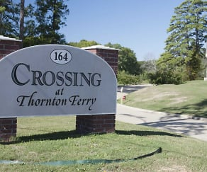 Community Signage, The Crossing at Thornton Ferry