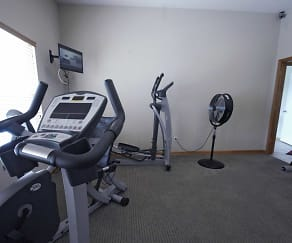 Fitness Weight Room, Village At Adams Dairy