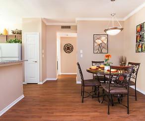 Dining Room, Villas of Preston Creek