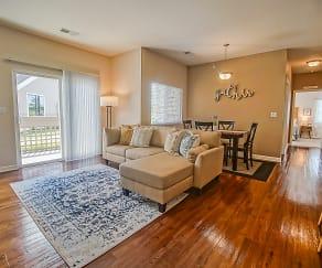 Living Room, Chisholm Lake Apartments