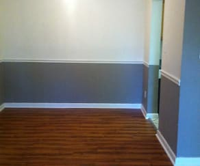 Dining Room, Riverbend Apartments