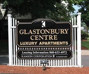 Community Signage, Glastonbury Centre