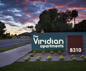 Community Signage, Viridian Apartments