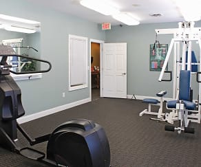 Fitness Weight Room, Landings At Cedar Creek Townhomes