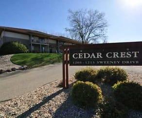 Community Signage, Cedar Crest