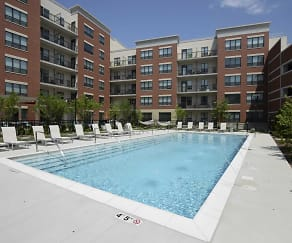 Pool, Ninety 7 Fifty On The Park Apartments