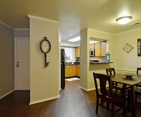 Dining Room, Deerwood Apartments