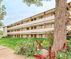 Building, Rosamond Apartments