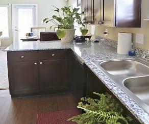 Kitchen, Summit Apartments