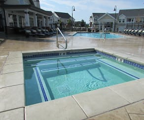 Pool, Riverwalk Luxury Apartments