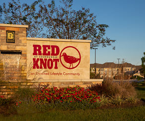 Community Signage, Red Knot at Edinburgh