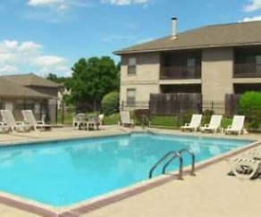Pool, Cedar Creek Village Apartments