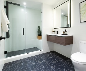 Bathroom, The Irvine Apartments