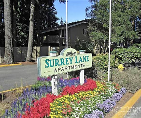 Community Signage, Surrey Lane