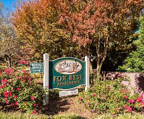 Community Signage, Fox Rest