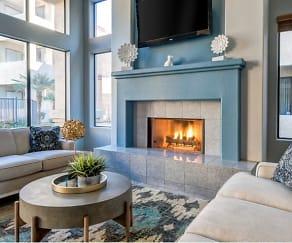 Living Room, Ingleside Apartments