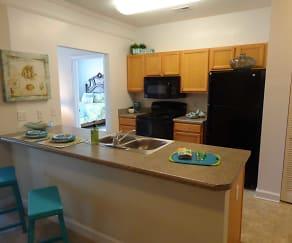 Kitchen, 900 Acqua Luxury Senior Living