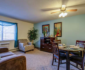 Living Room, Parkside of Livonia - Independent Senior Living
