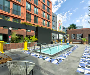Pool, El Centro Apartments & Bungalows
